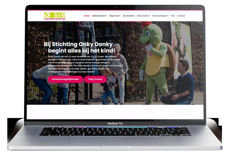 Onky Donky Maatwerk Website